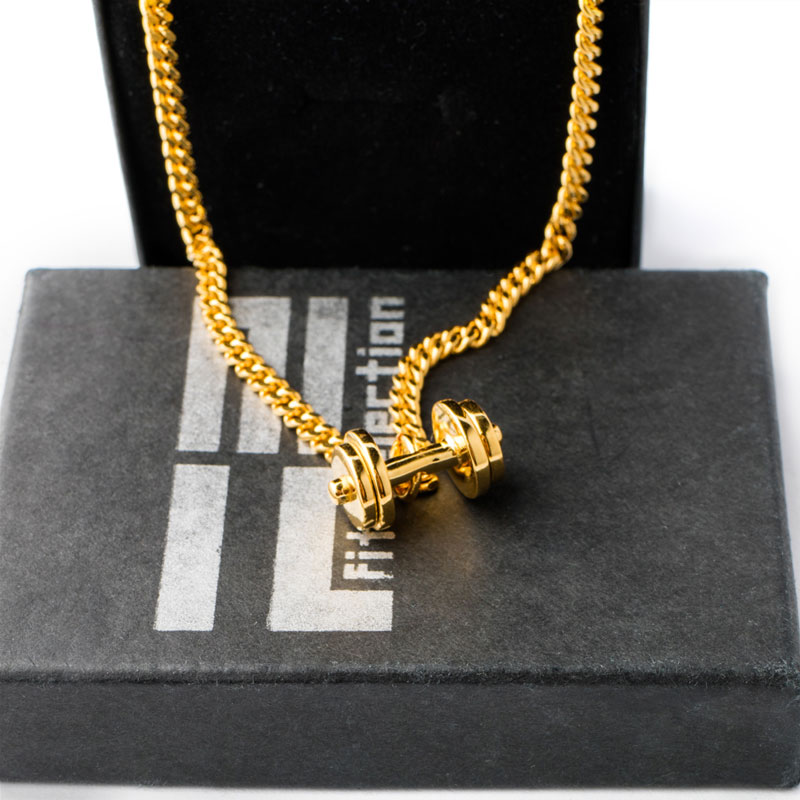 gym i strength quality dp fitness premium pendant bodybuilding dumbbell choose jewellery necklace necklaces kettlebell