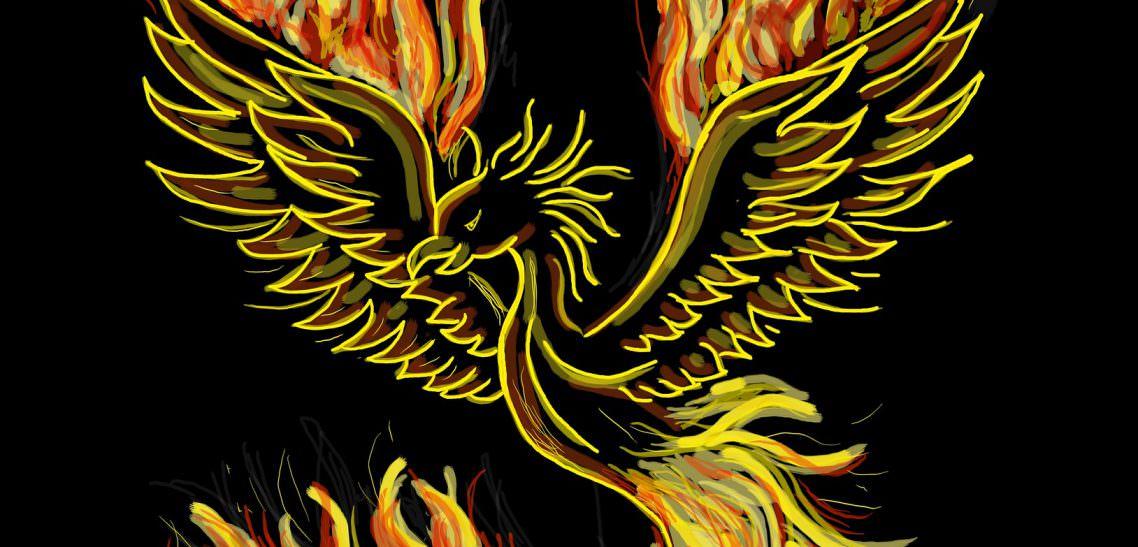 Phoenix as a meditation symbol