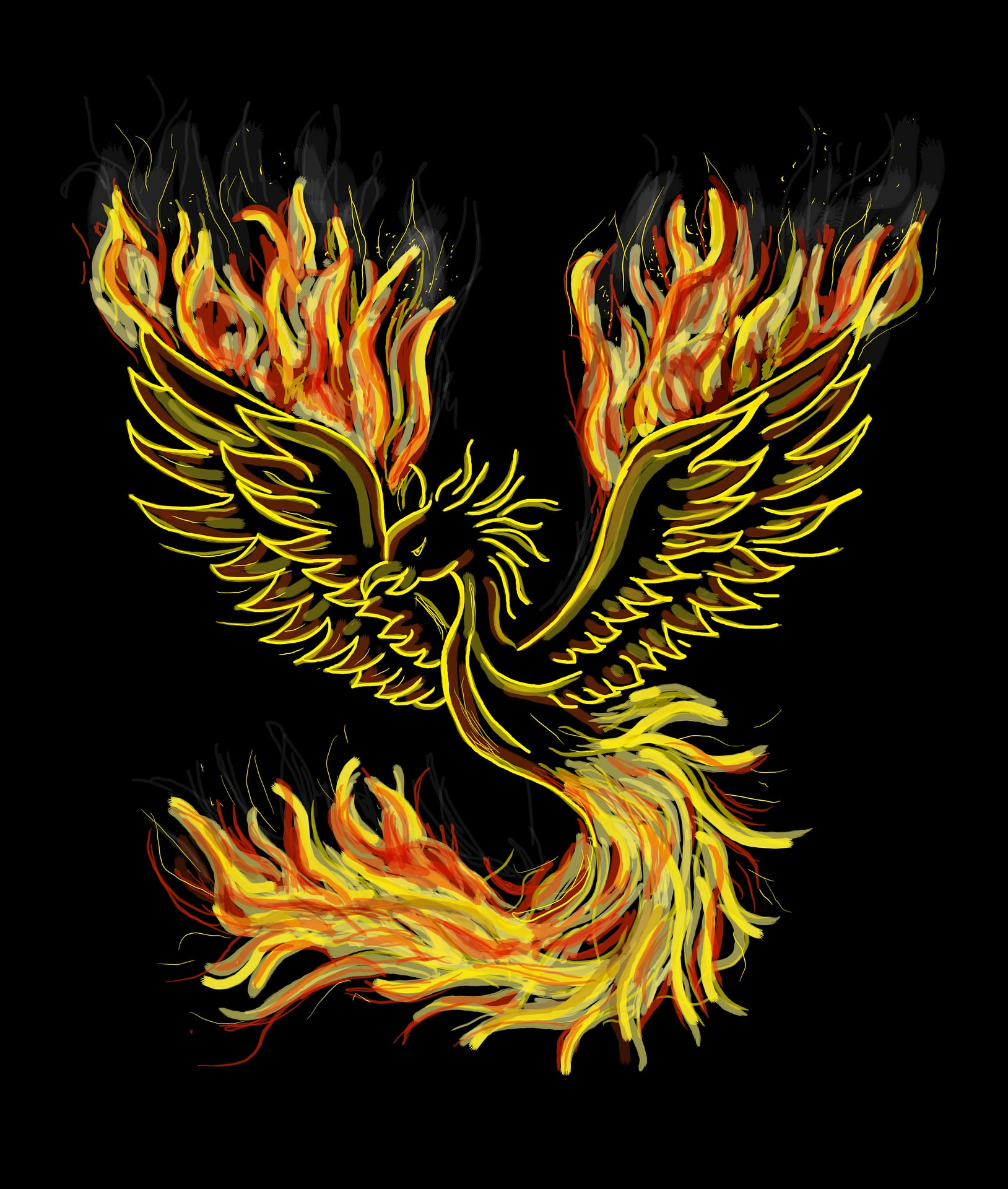 Phoenix Symbol In Meditation Jewelry Creation And Transformation