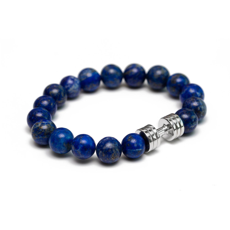 lapis lazuli dumbbell bracelet motivation you wear. Black Bedroom Furniture Sets. Home Design Ideas