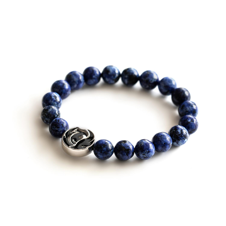 phoenix lapis lazuli bracelet sterling silver fitselection. Black Bedroom Furniture Sets. Home Design Ideas