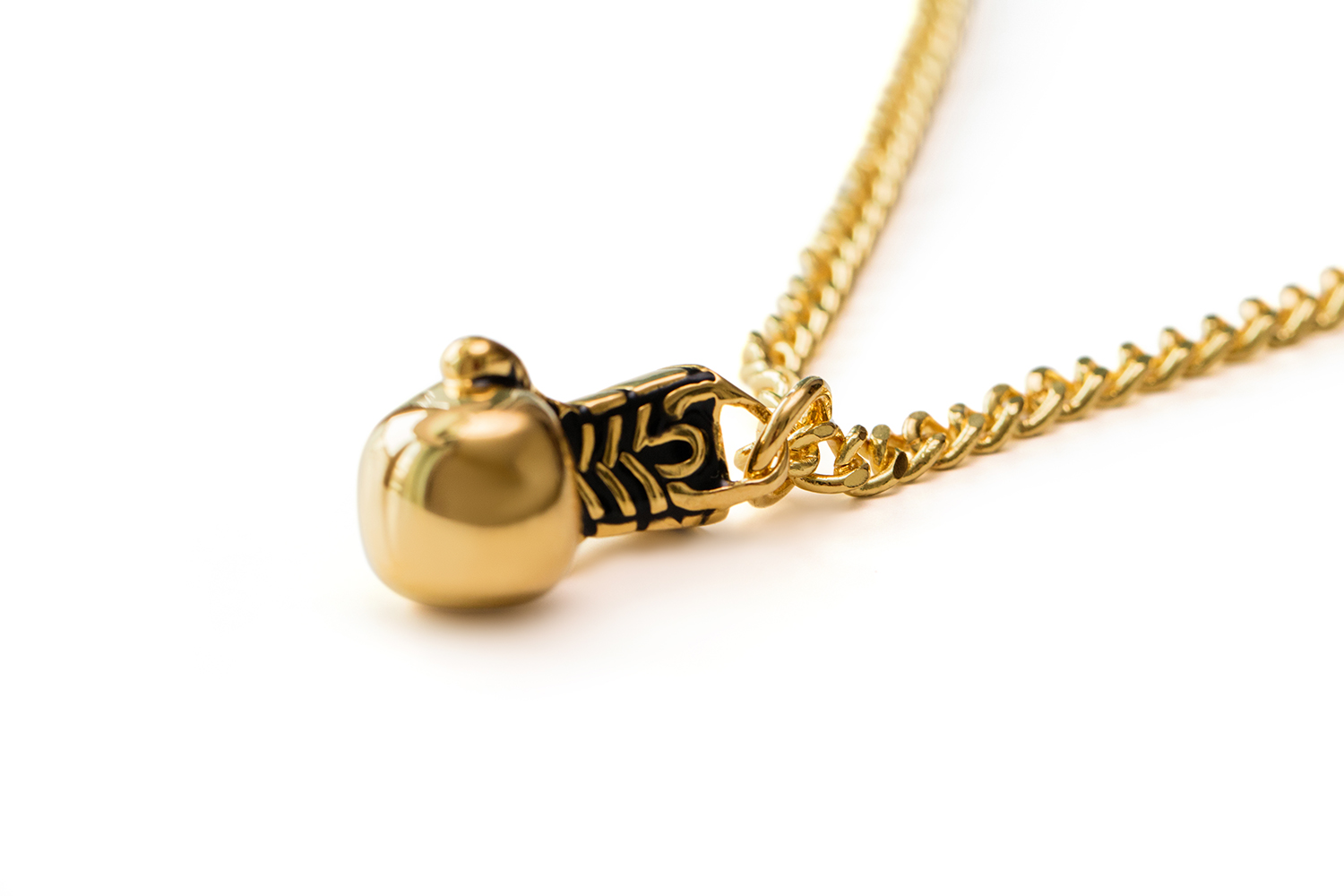 Gold boxing glove necklace fit selection gold boxing glove necklace aloadofball Image collections
