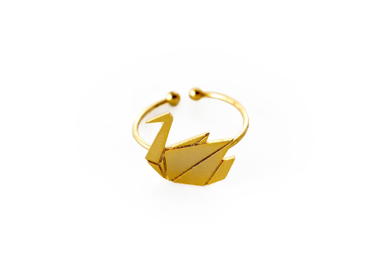swan ring nature inspired rings collection fit selection